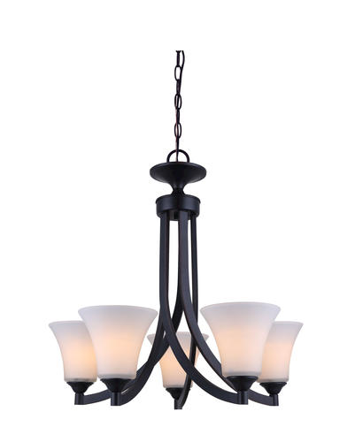 Patriot Lighting Cody Rubbed Antique Bronze 25 5 Light GU24 Chandelier