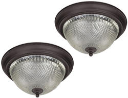 Patriot Lighting® Replacement Glass Shade for Cut Glass Flush Mount ONLY