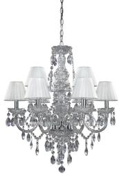 "Patriot Lighting® Concerto 9-Light 25.25"" Clear Chandelier"