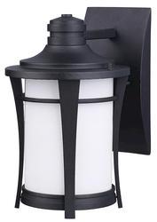 """Patriot Lighting® Maya 1-Light 10.75"""" Black Outdoor Downlight"""