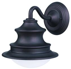 "Patriot Lighting® Wharf 1-Light 10.5"" Oil Rubbed Bronze Outdoor Downlight"
