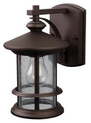 "Patriot Lighting® Treehouse 1-Light 9.75"" Oil Rubbed Bronze Outdoor Downlight"