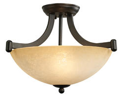 Patriot Lighting® Replacement Glass Shade for 3 Light Warren Chandelier ONLY
