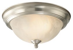 """Patriot Lighting® Replacement Glass Shade for 11"""" Flush Mount Twin Pack ONLY"""