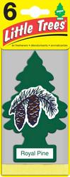 Little Trees® 6-Pack Royal Pine Air Freshener