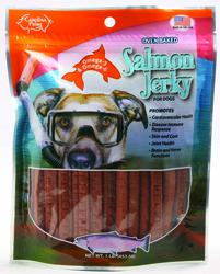 Carolina Prime Oven Baked Salmon Jerky Dog Treats - 1 lb.