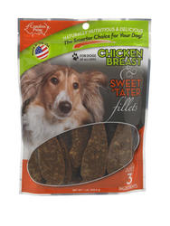 Carolina Prime Chicken Breast and Sweet 'Tater Fillets Dog Treats - 16 oz.