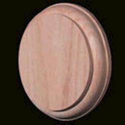 Carolina Stair Walnut Round Rosette