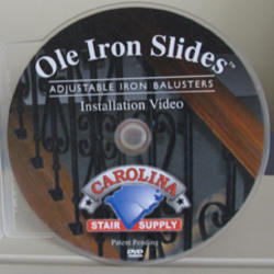 Carolina Stair Ole Ironslides Stairparts Installation DVD