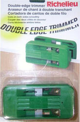 Double-Edged Trimmer for Wood or Melamine