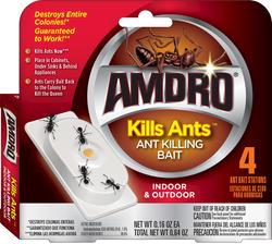 AMDRO® Kills Ants™ Ant Killing Bait Stations 4-pack