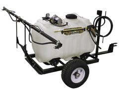 BioLogic 60-Gallon Tow-Behind Tank Sprayer