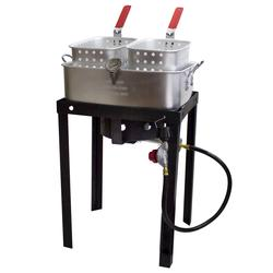 18-Quart Dual Basket Fryer