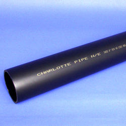"Schedule 40 Cellular Core ABS DWV Plain End Pipe-1-1/2""x5'"
