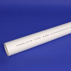 "Schedule 40 Cellular Core PVC DWV Plain End Pipe-3""x10'"