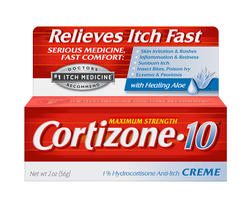 Cortizone-10 Maximum Strength Anti-Itch Cream - 2 oz