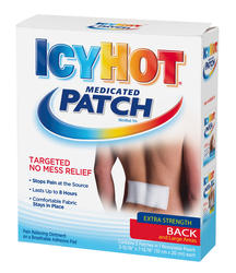 Icy Hot Extra Strength Large Medicated Patches - 5-pk