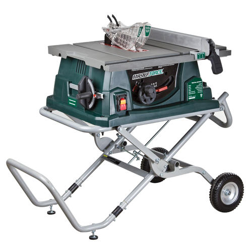 """Table Saws At Menards ... ® 10"""" Jobsite Table Saw with Gravity-Assist Stand at Menards"""