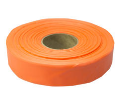 "1-3/16"" x 600' Orange Flagging Tape"
