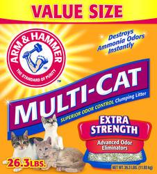 ARM & HAMMER™ Multi-Cat Clumping Cat Litter - 26.3 lb.