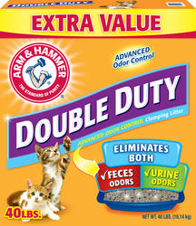 ARM & HAMMER™ Double Duty Clumping Cat Litter - 40 lb.