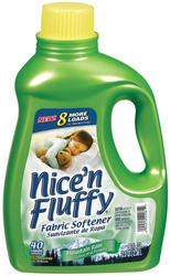 Xtra™ Nice 'n Fluffy™ Mountain Rain™ Fabric Softener - 80 Loads