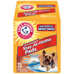ARM & HAMMER™ Stay-At-Home Pads - 75 ct.