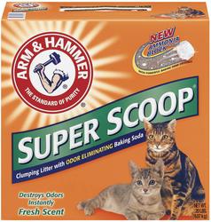 ARM & HAMMER™ Super Scoop® Clumping Cat Litter - 20 lb.