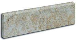 """Mochachino Dark Glazed Porcelain Tile Bullnose 3""""x 12"""""""