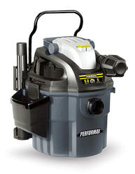 Performax 5-Gallon 5-Peak HP Wall Mount Wet/Dry Vacuum