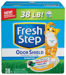 Fresh Step® Odor Shield Scented Scoopable Cat Litter - 38 lb.