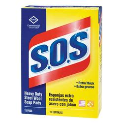 S.O.S Heavy Duty Steel Wool Soap Pads - 15 ct.