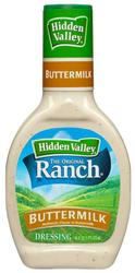 Hidden Valley® The Original Ranch® Buttermilk Dressing - 16 oz.