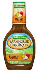 Hidden Valley® Farmhouse Originals Italian Dressing with Herbs - 16 oz.