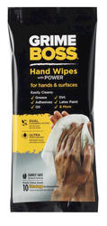 Grime Boss® Hand Wipes - 10 Count