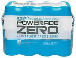 Powerade ZERO Mixed Berry Sports Drink - 8-pk