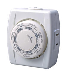 Smart Electrician Indoor 7-Day Mechanical Vacation Timer