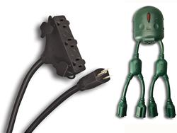 Coleman Cable Multi-Outlet Cord Combo Pack