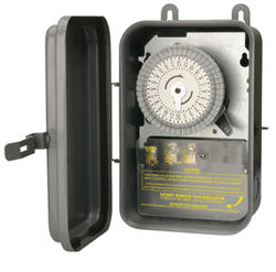 Outdoor Time Switch 120 Volt, 40 Amp SPST