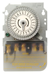 Indoor Time Switch 208-277 Volt, 40 Amp DPST Mechanism