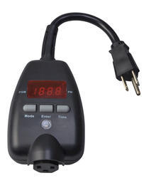 Smart Electrician Block Heater Timer with Temperature Control