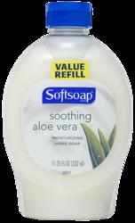 Softsoap Soothing Aloe Vera Moisturizing Hand Soap Refill - 11.25 oz