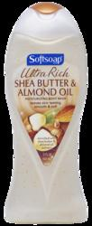 Softsoap Ultra Rich Shea Butter & Olive Oil Moisturizing Body Wash - 15 oz