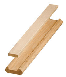 "Colonial Elegance® Contemporary 3/4"" x 2-1/4"" x 14' Oak Stair Shoerail"