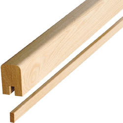 """Colonial Elegance® Contemporary 1-5/8""""x 2-3/8"""" x 8' Oak Stair Handrail with Fillet"""