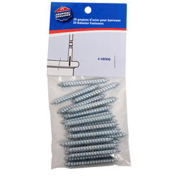 Colonial Elegance® Metal Stair Baluster Fasteners - 20 ct.