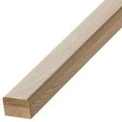 "Colonial Elegance® Mission 1-3/4"" x 2-1/4"" x 8' Oak Stair Handrail"