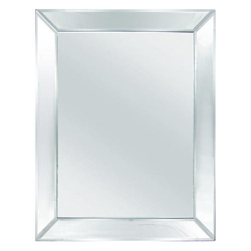tri deco 24 w x 36 h beveled mirror at menards