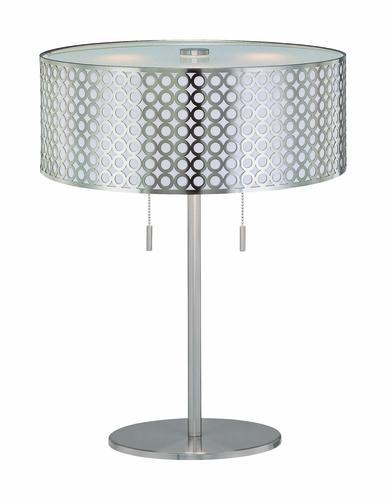 Photon 2 Light 2225 Steel Fluorescent Table Lamp At MenardsR