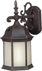 Photon 1-Light 16'' Painted Rust Outdoor Lantern